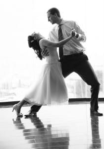 שיעורי ריקוד חופשי לפני החתונה