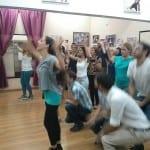 חזרה לריקוד פלאש מוב לחתונה בסטודיו לרקוד מהלב