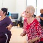 שיעורי ריקוד לנשים בגילאי 50+