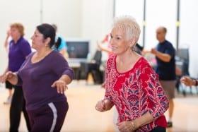 שיעורי ריקוד לנשים 50+