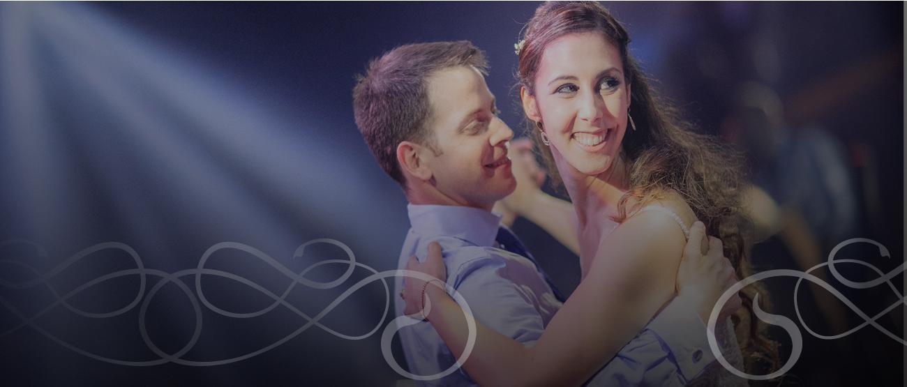 ריקוד חתן כלה עם לרקוד מהלב