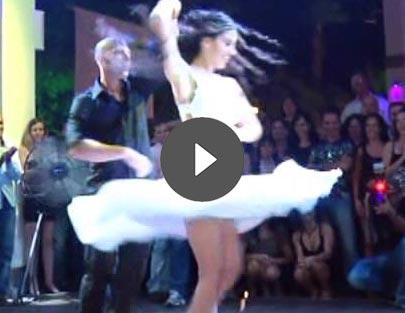 ריקוד חתונה מהסרטים של שרון וגיא
