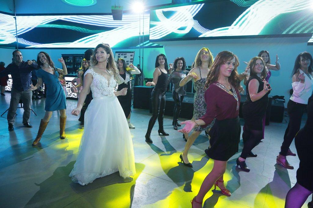 ריקוד פלאש מוב המוני לחתונה עם סטודיו לרקוד מהלב