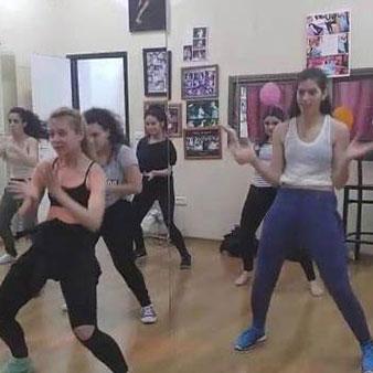 סדנת ריקוד היפ הופ